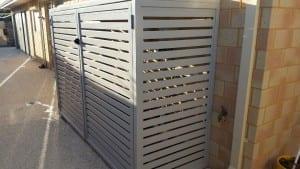 Aluminium Slat Bin Storage
