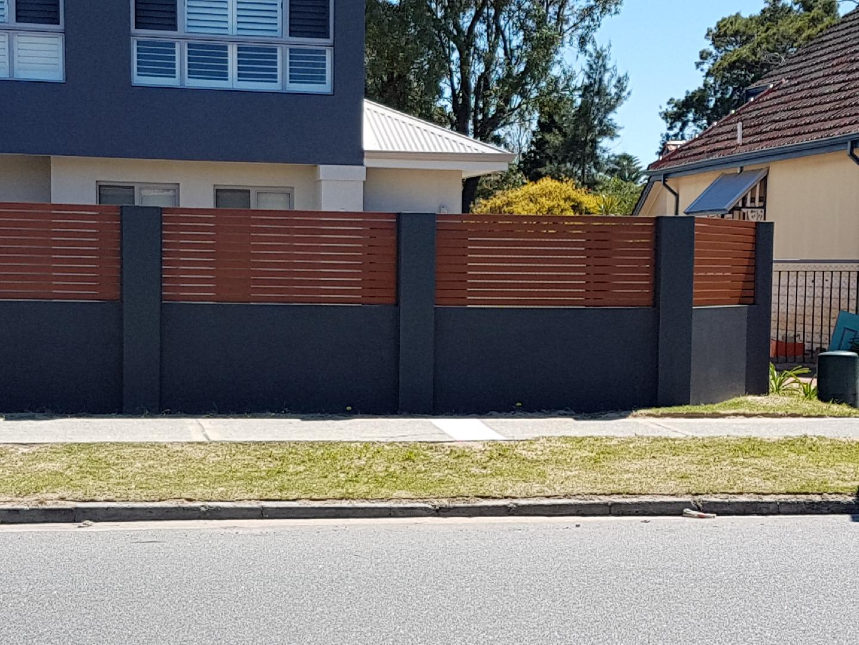 Aluminium Slatted Fencing Amp Gates Perth Rockingham