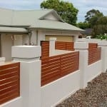 Aluminium Timber Grain Fencing